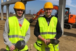 Construction students from Ulvila